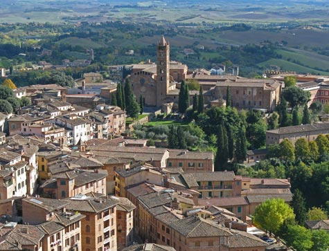 Hotels in Siena Italy and Region