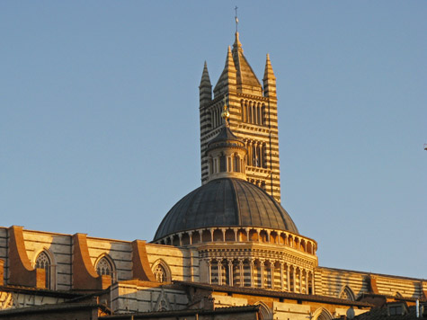 Famous Landmarks in Siena Italy